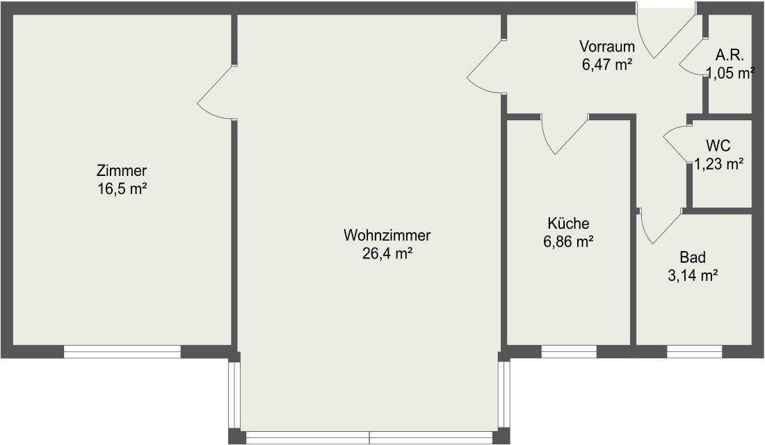 wohnTraum Immobilien 2-Zimmer Wohnung Perchtoldsdorf Eigentumswohnung Loggia